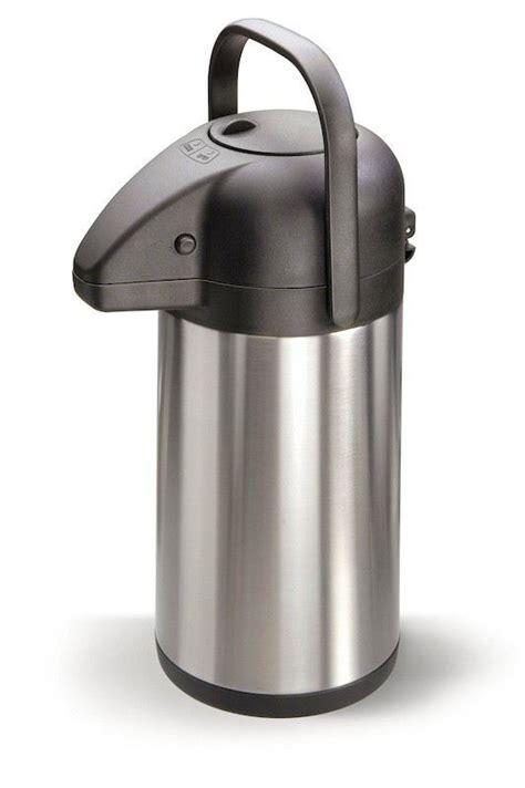 Thermoskanne Mit Pumpe by Isolierkanne 1 9 Liter Thermosflasche Thermoskanne
