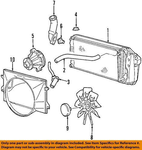 Buy Ford Oem Engine Water Pump Lzca Motorcycle