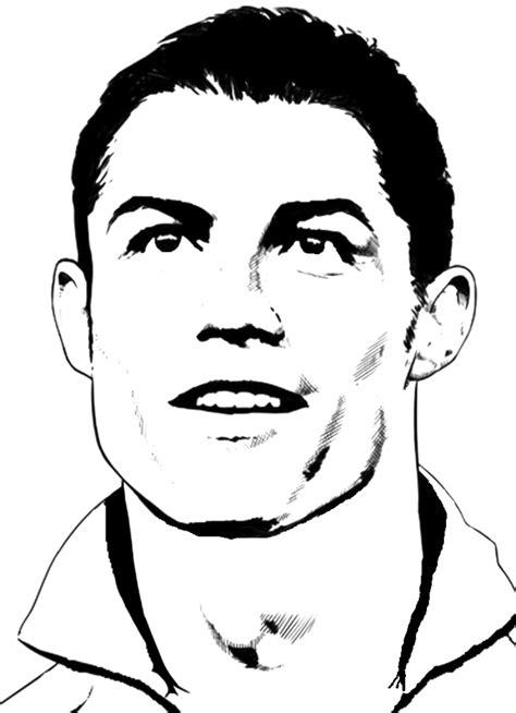 disegni da colorare di ronaldo sta disegno di cristiano ronaldo da colorare