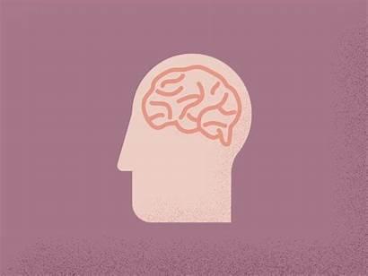 Brain Right Dribbble Animation Bang Ban Ba