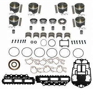Johnson  U0026 Evinrude Outboard V6 150  U0026 175 Hp 60 U00b0 Carbureted