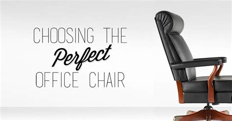 Choosing The Perfect Office Chair Workspace