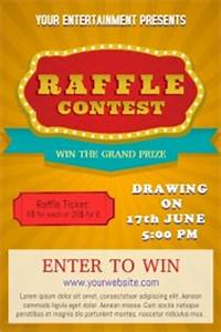 Design a Winning Raffle Flyer | PosterMyWall