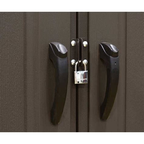 Tuff Shed Door Handle Hardware by Lifetime 6411 8 X 7 5 Lifetime Garden Shed On Sale With