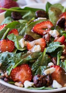 Strawberry Spinach Salad with Candied Pecans | I Wash You Dry