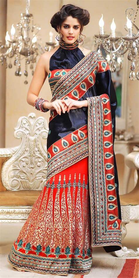 latest indian bridal saree   party wear indian saree