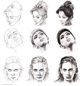 How to Draw Faces Steps
