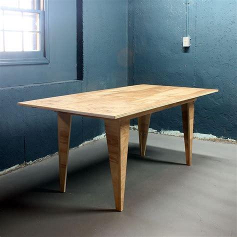 diy modern birch table   sheet  plywood