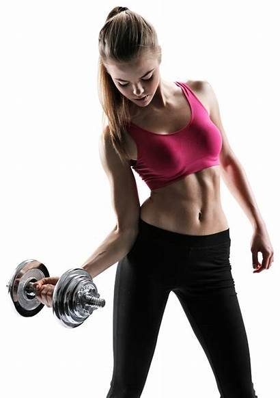 Fitness Clipart Transparent Woman Exercising Young Training