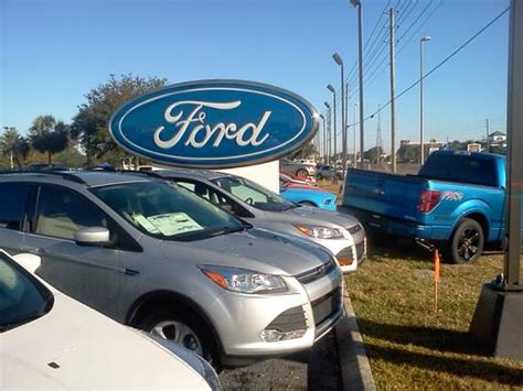 Used Car Dealerships In New Richey Fl by Ford Of Richey Car Dealership In Richey Fl