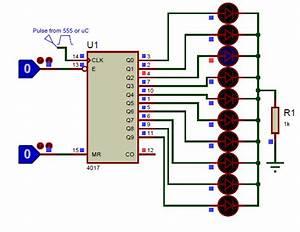 Ic Cd4017 Pinout  Description  Equivalents  U0026 Datasheet