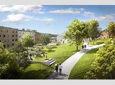 Utopia Arkitekter Designs Apartment Block with Rooftop