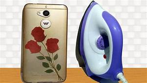 How to Print Flower Photo on Mobile Cover at Home - Using ...