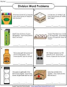 solving division word problems beginning division worksheets abitlikethis