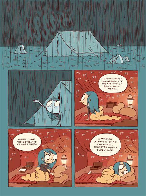 hilda   troll luke pearson illustration  comics