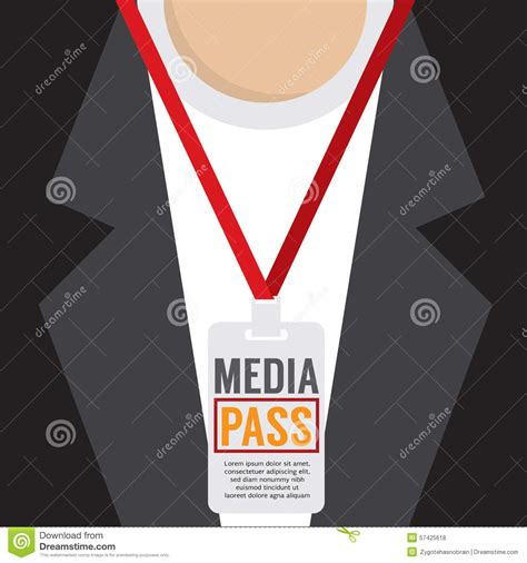 Media Pass Template by Official Press Pass Template Www Imgkid The Image