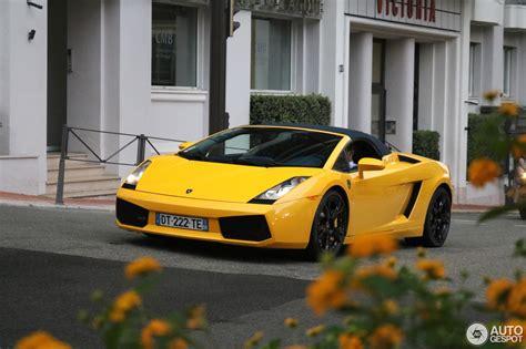 Lamborghini Gallardo Spyder  6 January 2018 Autogespot