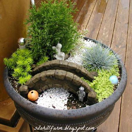 Silo Hill Farm Fairy Garden In A Container