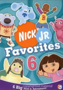 Nick Jr Favorites 6 DVD Empire