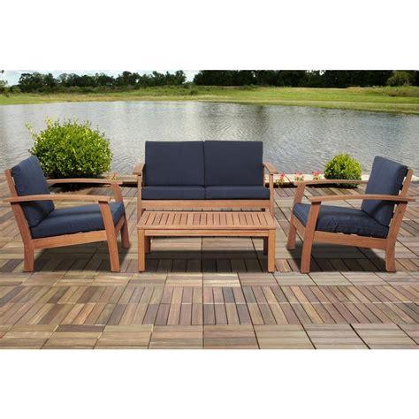 amazonia giles 4 eucalyptus patio seating set