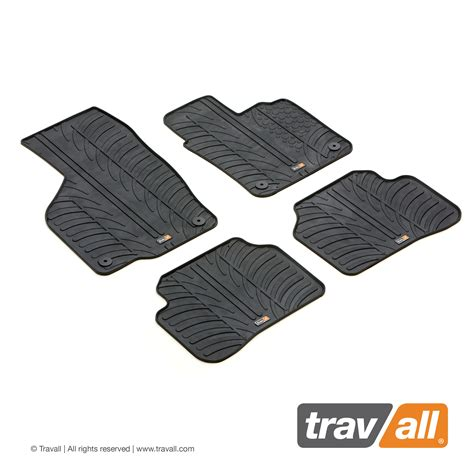 vw passat floor mats 2011 genuine travall mats vw passat 2011 2014 4 pcs fix