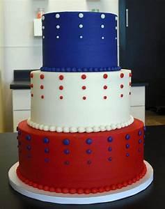 Red, White, and BEAUTIFUL wedding cake | CUSTOM CAKES ...