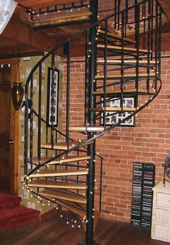 light weight spiral stairs