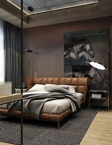 Best 25+ Leather bed ideas on Pinterest Black leather