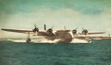 Flying Boat Australia by Air New Zealand Turns Sydney Ferry Into Flying Boat