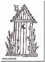 Outhouse Drawings Pallet Painting Line Patterns Wood Houses Burning Outhouses Coloring Google Outline Easy Sketch Tole Silhouette Pebble Template Scrapbooking sketch template