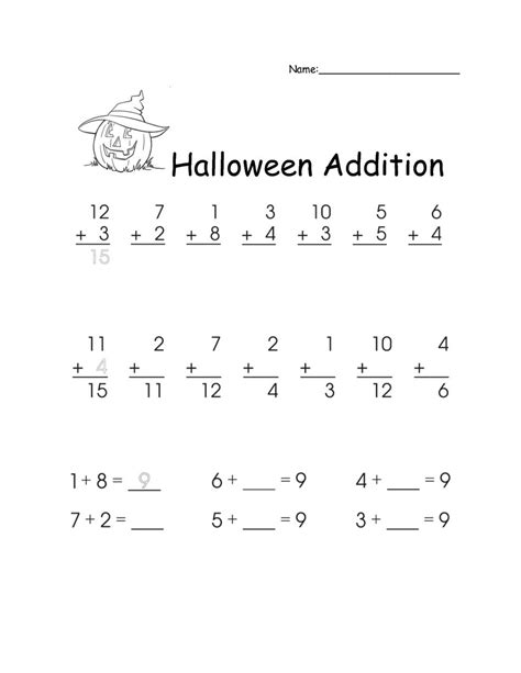 Addition Worksheets First Grade Clubdetirologrono