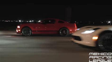 Gt500's Race A Ls Swapped Rx7 And Stock C7 Z06  Epic Speed