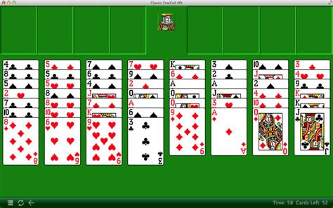 Classic Freecell Hd On The Mac App Store