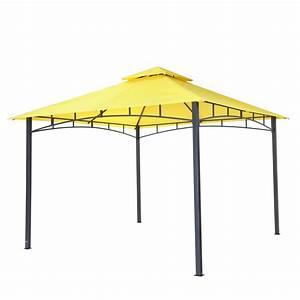 Pavillon 3 X 3 : tepro garten pavillon 3x3 m gartenzelt wasserdicht camping partyzelt waya gelb 4011964055292 ebay ~ Orissabook.com Haus und Dekorationen