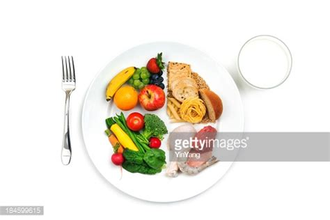 usda 187 cooking usda choose my plate basic food group healthy eating recommendation stock photo getty images