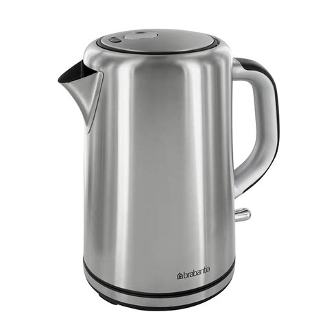 what to put in kitchen canisters briscoes brabantia bbek1001a stainless steel kettle