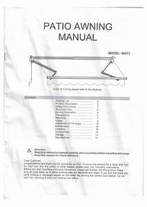 Xtremepowerus 96074 8 Ft  Manual Retractable Awning  79 In