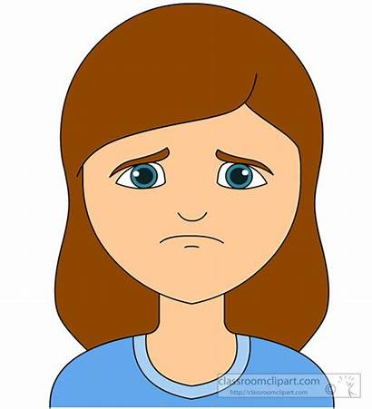 Sad Expression Emotional Clipart Emotions Face Clip