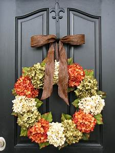 Fall, Hydrangea, Wreaths, Front, Door, Wreaths, Wreaths, For, Front