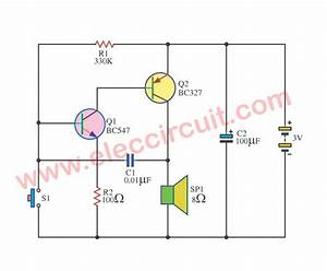 Forget Door Alarm Circuit  U2013 Electronic Projects Circuits
