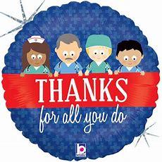 Thanks For All You Do Mylar Balloon Shindigz