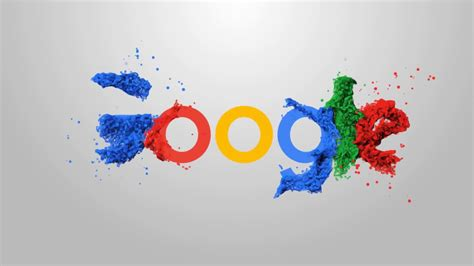 google logo animation adobe  effects template youtube