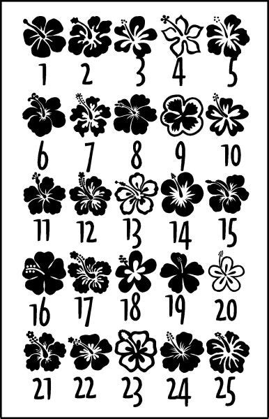 Hibiscus flower designs | Flower tattoo designs, Hawaiian tattoo, Flower tattoos