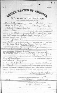 gallery immigration documents charles winberg With documents by charles