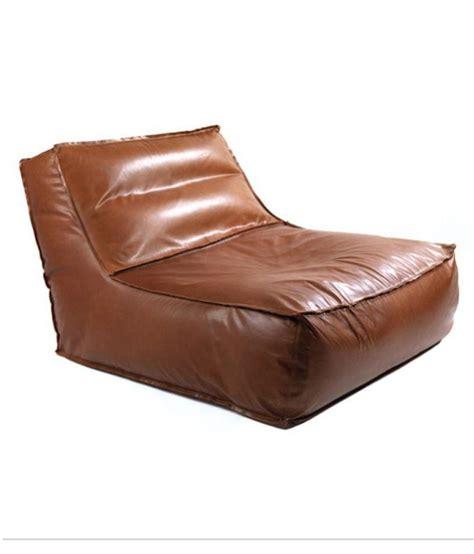 lounger bean bag sofa bean stretchable bag leather bean
