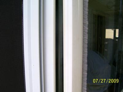 screen door weather stripping sliding screen door bugstrip needs replacing