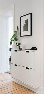Meuble à Chaussures Ikea : chaussure ikea meuble a chaussure blanc entree ikea ~ Teatrodelosmanantiales.com Idées de Décoration