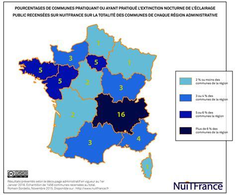 Carte De Pollution Nocturne by Nuitfrance Plateforme De Connaissances Sur La Nuit La