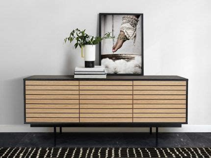 Kumode Stripe   Black sideboard, Oak sideboard, Sideboard ...