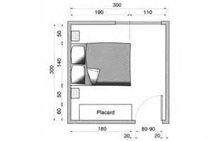 Plan Amenagement Chambre 12m2 by Plan Chambre O 249 Mettre Le Lit Dans La Chambre C 244 T 233